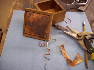 Copper Pipe Box